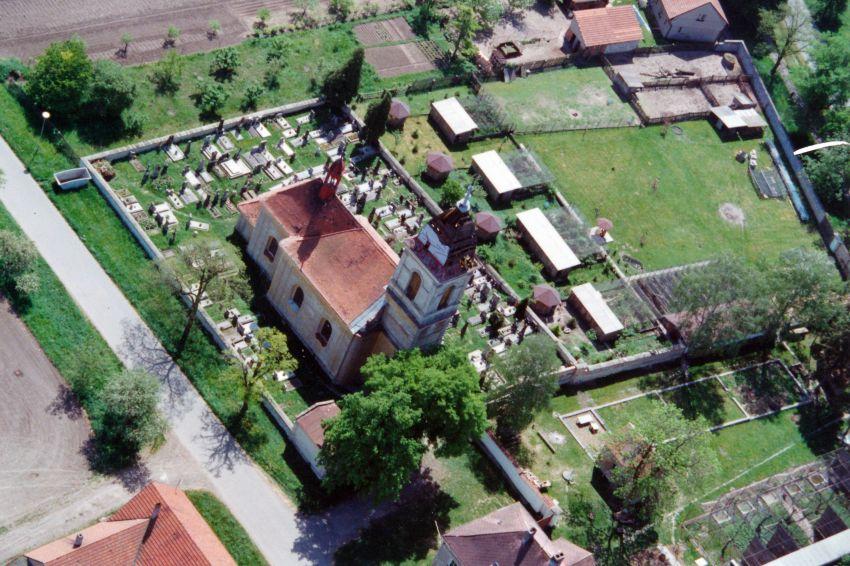 letecký pohled na začínající zoo (~2000)