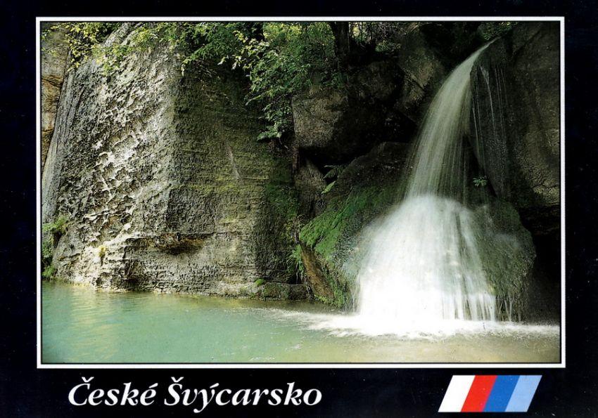Poslední levostranný přítok Labe v ČR - potok Klopot