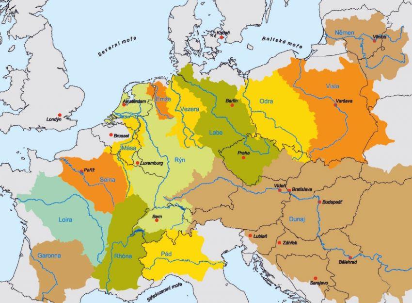 Evropská povodí