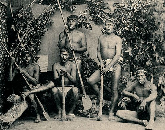 indiáni kmene Chiriguanů