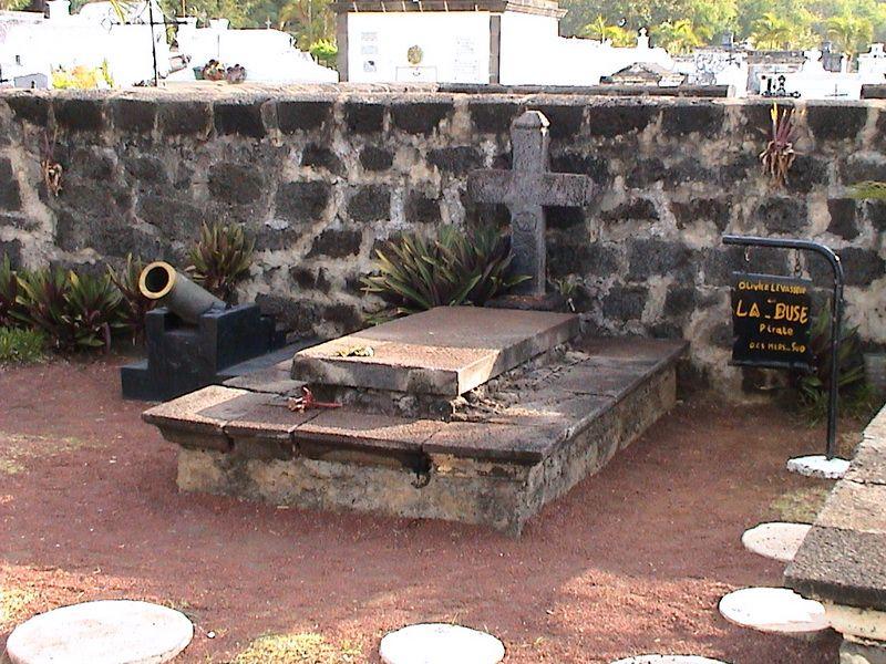 hrob La Buse v Saint-Paulu (Réunion)